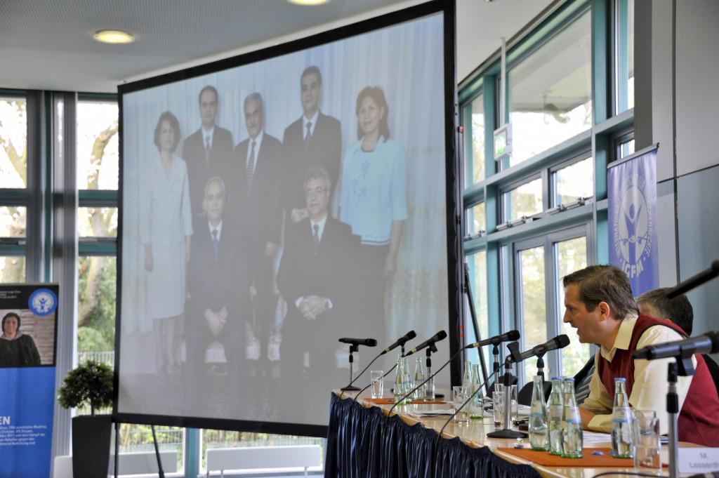 IGFM 2013 Bonn - Bahai Iran - Christian Henrichs