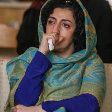 Nargess Mohammadi, Frauenrechtlerin und Vizepräsidentin des Zentrums für die Verteidigung der Menschenrechte.